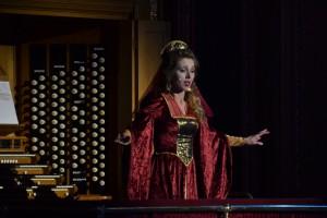 Pamela Hay as Juliet, Romeo and Juliet, Royal Albert Hall.